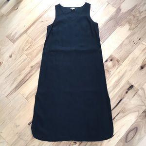 J. Jill linen maxi dress sleeveless Lagenlook